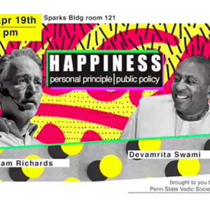 Happiness Event at Penn State